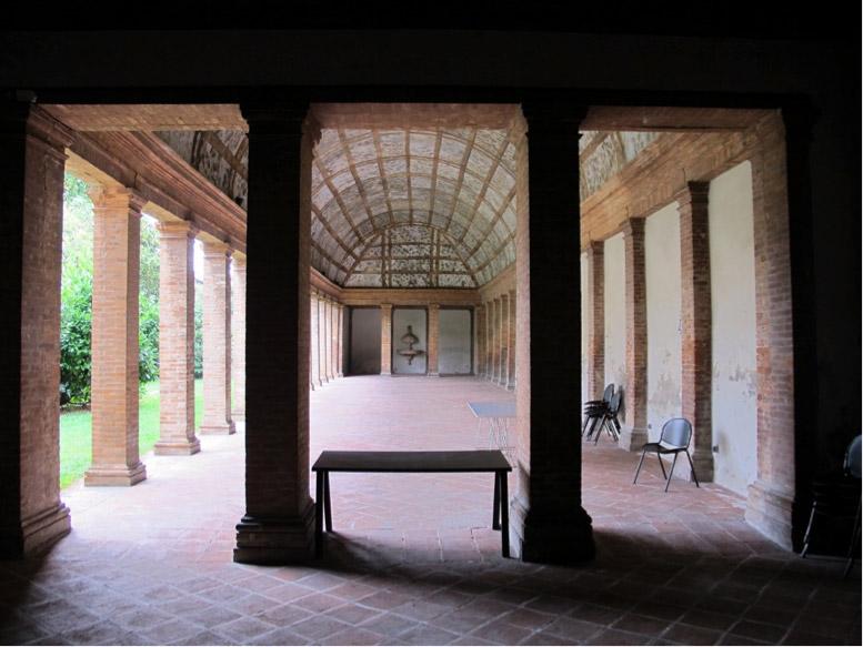 Museo di Arte Antica di Ferrara, Loggia degli Aranci della Palazzina Marfisa d'Este - Ferrara