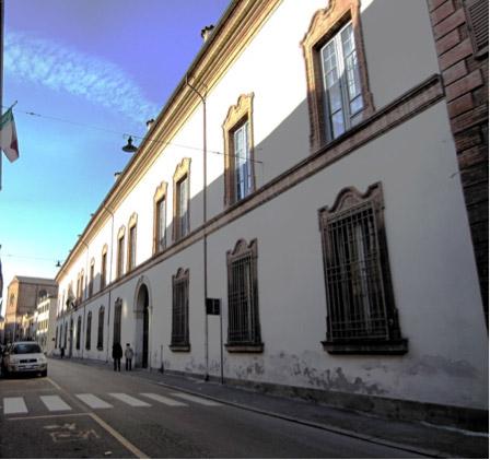 Rettorato dell'Università degli Studi di Ferrara, Sala degli Ermellini di Palazzo Renata di Francia - Ferrara